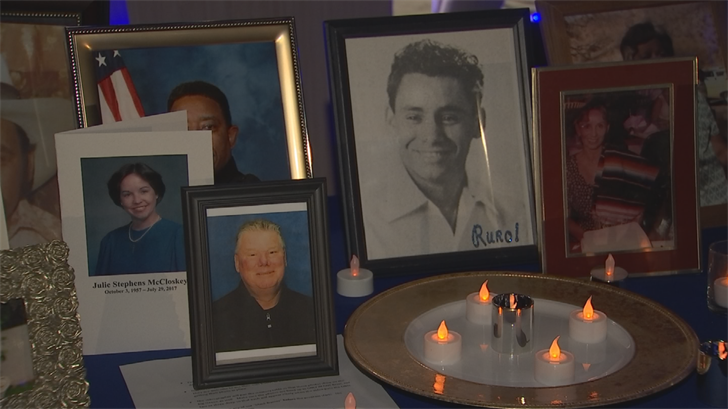 The crowd of more than 1,500 people at Steele Indian School Park was filled with friends and family of those who spent their final moments in the care of Hospice of the Valley. (Source: 3TV/CBS 5)
