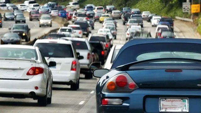AAA projects nearly 51 million Americans will travel nationwide on Thanksgiving Day, the highest amount of travelers since 2005. (Source: 3TV/CBS 5 file photo)
