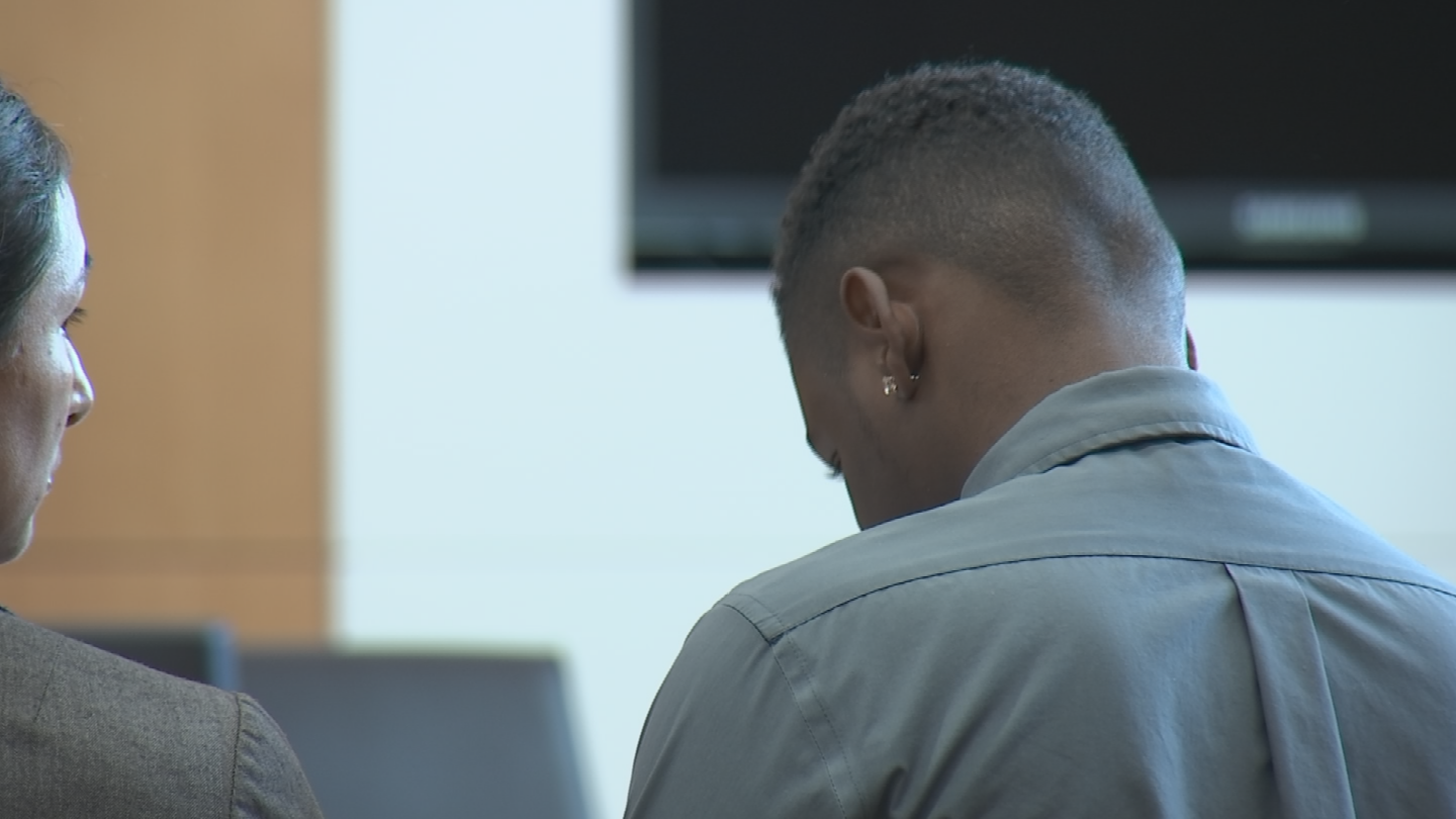 Nathaniel Thomas was back in court. (Source: Pool)