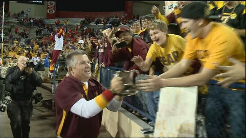 Coach Todd Graham. 20 N0v. 2017 (Source: 3TV/CBS 5 News)