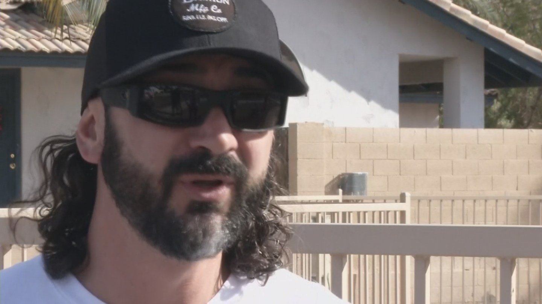 Joel Maez recalls the Las Vegas shooting. 20 Nov. 2017 (Source: 3TV/CBS 5 News)