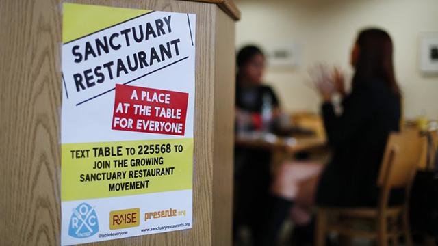 Judge blocks sanctuary cities order. 20 Nov. 2017 (Source: The Associated Press)