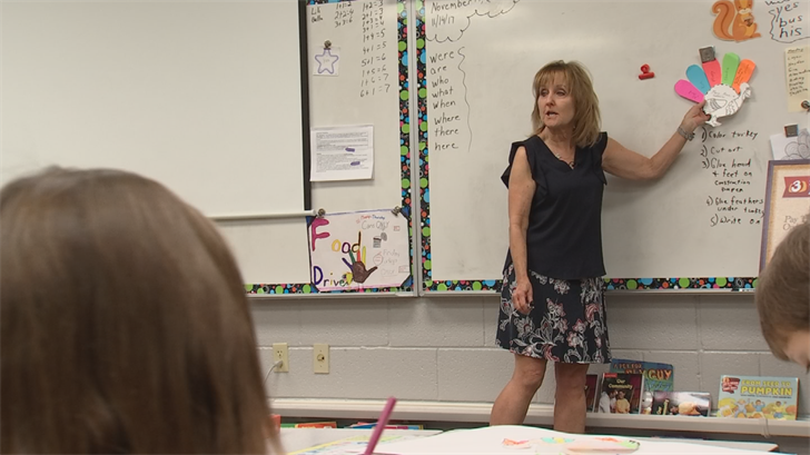 She has been teaching for 21 years but Holtzen says first grade was where her heart is. (Source: 3TV)