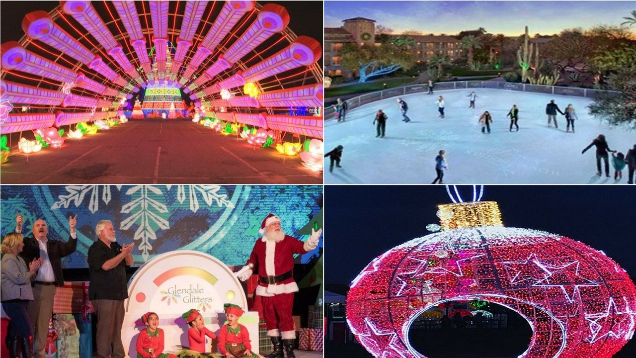 (Source: Glendale Glitters, Illumination Symphony of Light, Christmas at the Princess, Lights of the World)