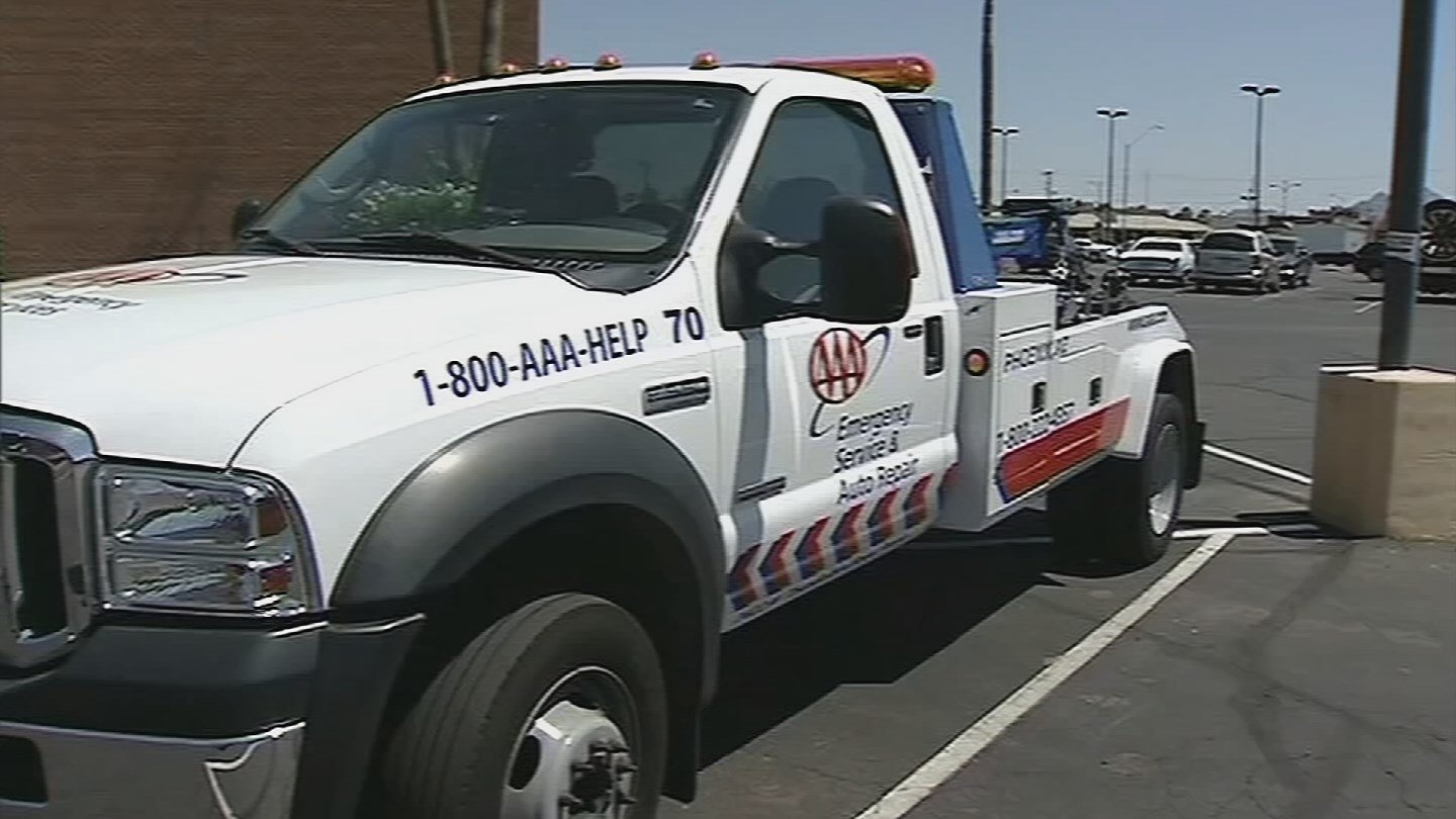Fleet yard for AAA Arizona. (Source: 3TV/CBS 5)