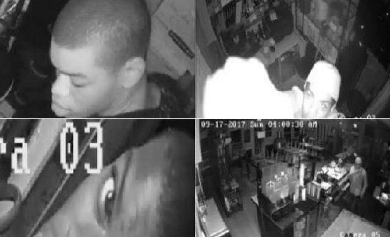 The Tempe Police Department is searching for a burglar who has hit five different eatery locations in Tempe in the last five months. (Source: Tempe PD)