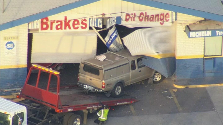 Police were on scene investigating the crash. (Source: 3TV/CBS 5)