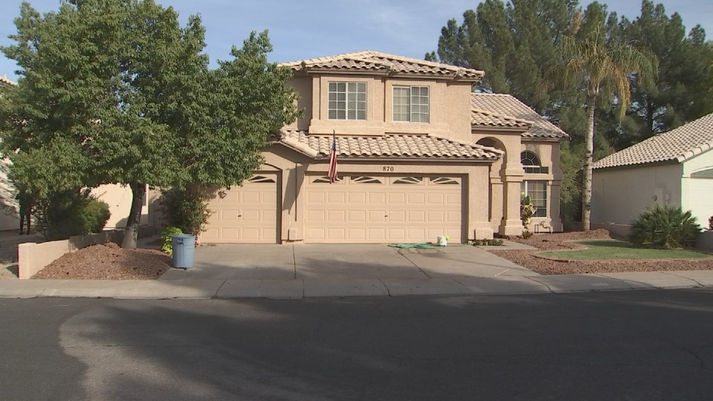 Police discovered the bodies while performing a welfare check at a Gilbert home. (Source: 3TV/CBS 5)
