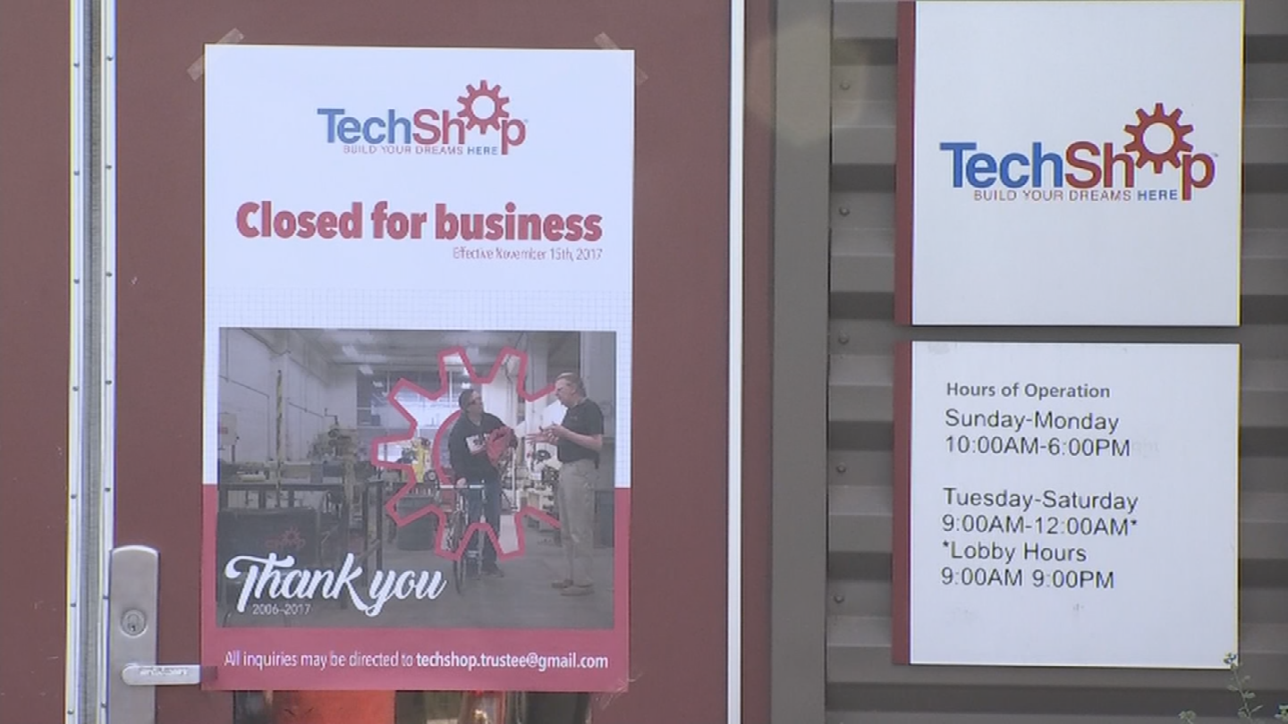 The group was using TechShop to make all these decorations, but since TechShop suddenly shut its doors, the group is scrambling to figure out how they're going to make their deadline.(Source: 3TV/CBS 5)