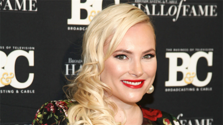 Meghan McCain poses in the press room at the Broadcasting & Cable Hall of Fame Awards 27th Anniversary Gala at the Grand Hyatt New York on Monday, Oct. 16, 2017, in New York. (Source: Andy Kropa/Invision/AP)