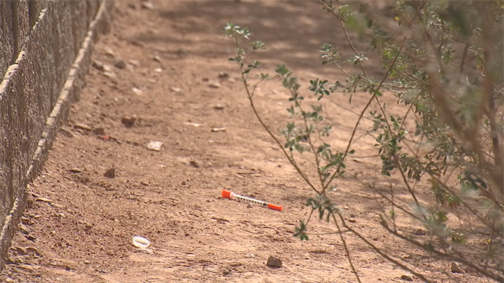 Thoi recommends installing needle disposal receptacles in public restrooms to keep the public safe from dirty needles. (Source: CBS 5)