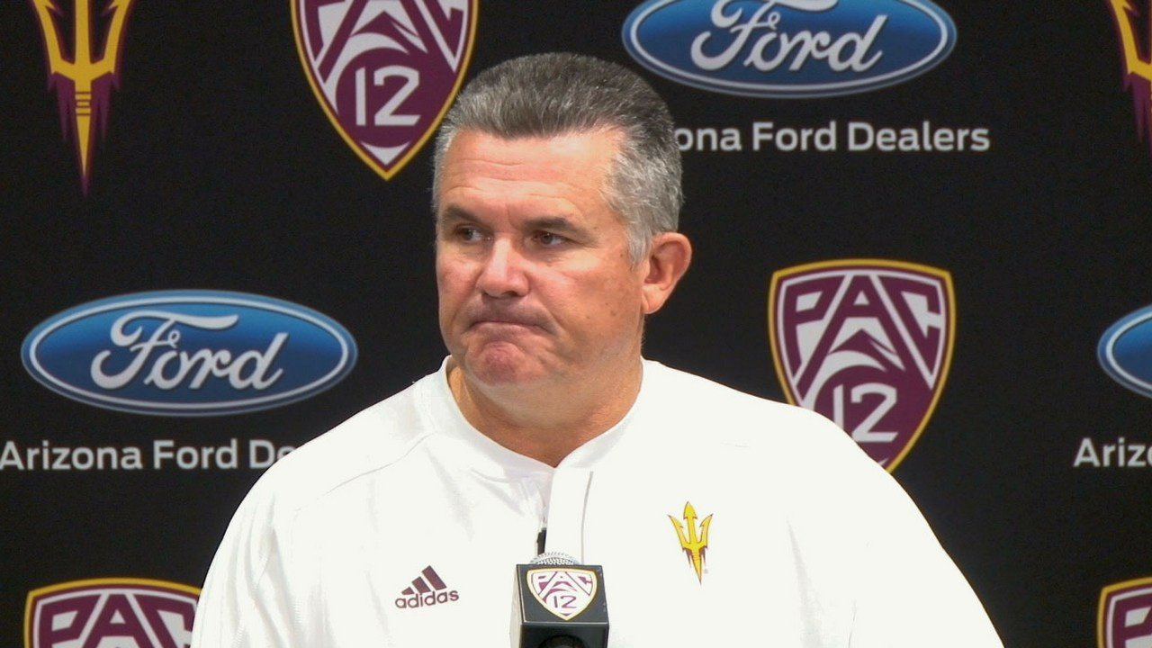 Arizona State reportedly fires Todd Graham after 6 seasons