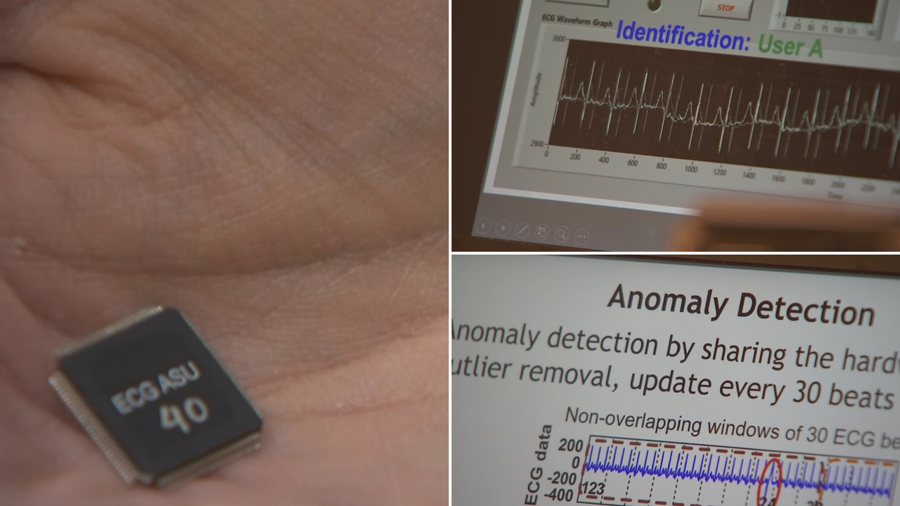 One ASU professor thinks he has found the ultimate way to deter hackers and its by using your own heart. (Source: 3TV/CBS 5)