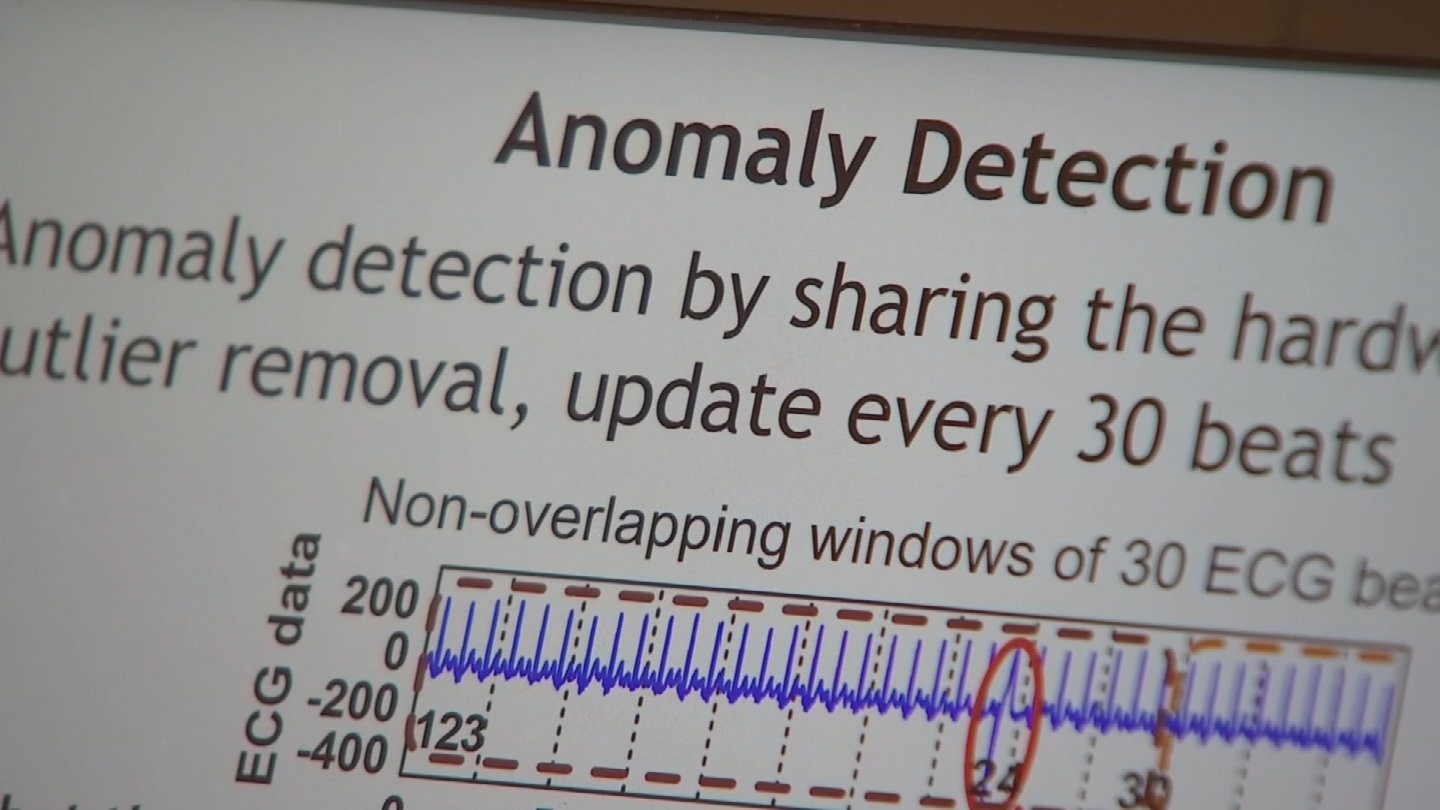 The technology is really a leap into the future when it comes to preventing our personal information from being stolen. (Source: 3TV/CBS 5)