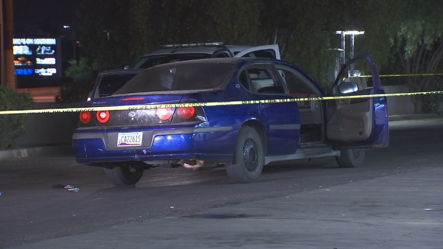 A man was shot twice, once in the back and once in the shoulder, after an argument in Phoenix. (Source: 3TV/CBS 5)