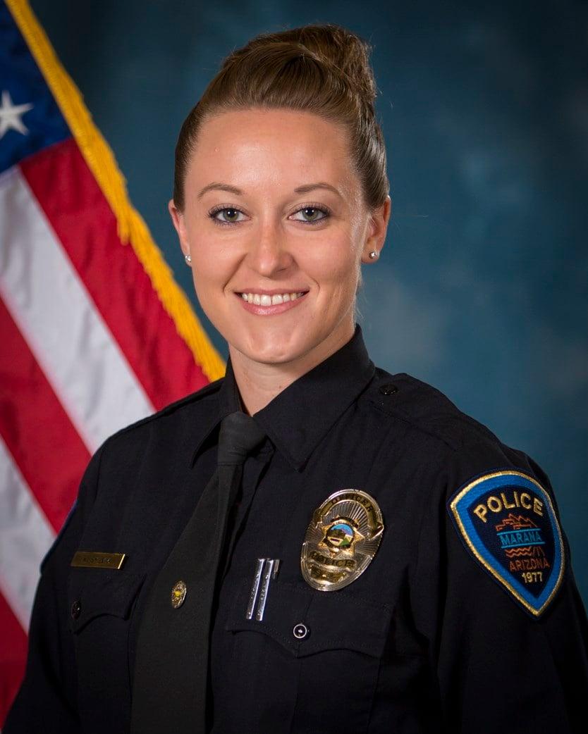 Officer Kyla Sylvia (Source: Marana Police Department)