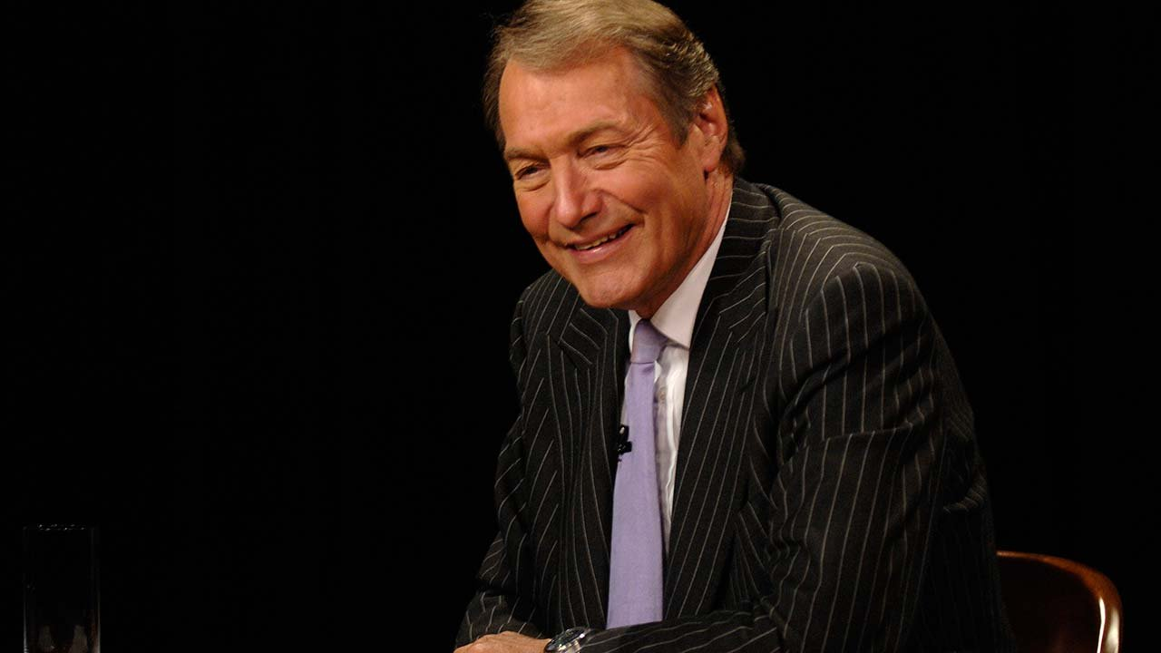 Charlie Rose speaks during a live online forum, Wednesday, Sept. 12, 2007, in New York. (Source: AP Photo/ Louis Lanzano)