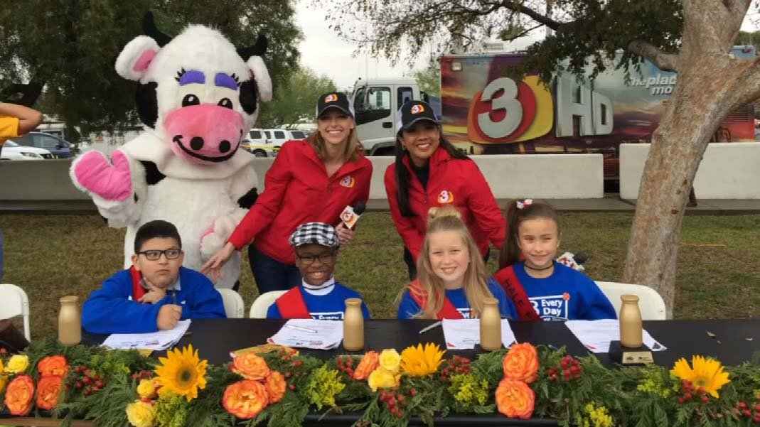 Last year's Half-Pint Judges with Daisy and our April Warnecke and Gina Maravilla. (Source: 3TV/CBS 5)