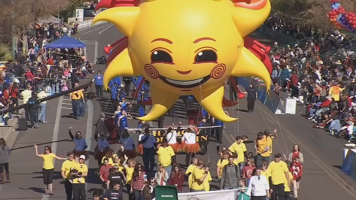 This year's Fiesta Bowl Parade will be on Dec. 30. (Source: 3TV/CBS 5)