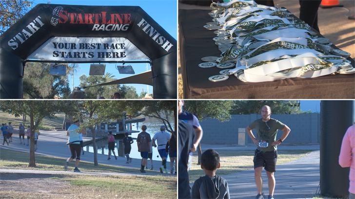 Money was raised for special forces and their families through this run. (Source: 3TV/CBS 5)