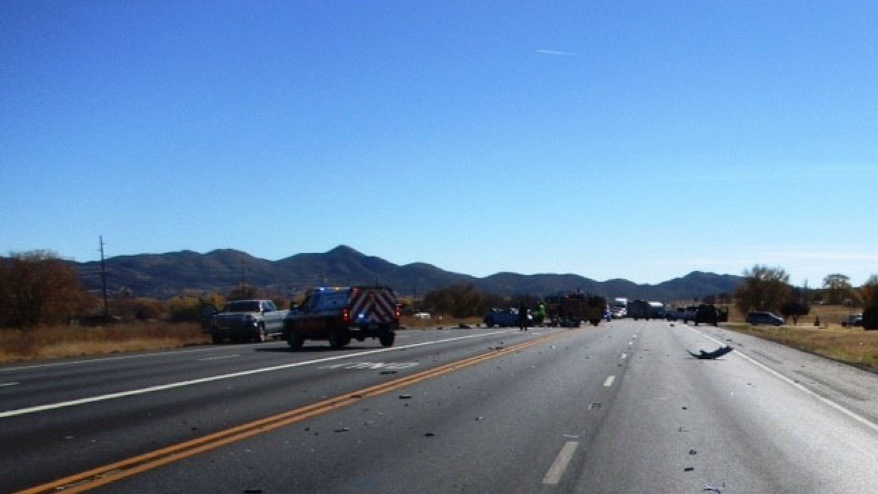 A woman has died after a vehicle collision in Prescott Valley caused a chain reaction, leaving multiple people injured. (Source: Prescott Valley PD)