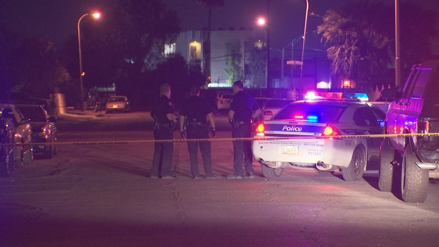 A drive-by shooting left one young adult with multiple gunshot wounds in Phoenix. (Source: 3TV/CBS 5)
