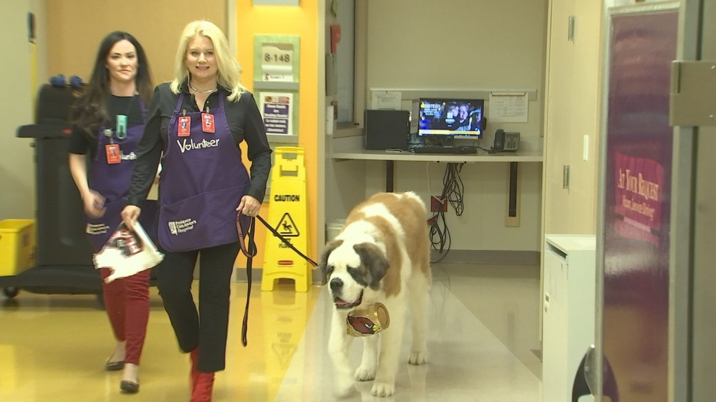 Nicole Bidwill sayd both she and Barney love their visits to PCH. (Source: 3TV/CBS 5)