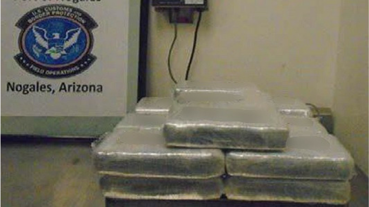 Some of the meth that was confiscated at the border. (Source: U.S. Customs and Border Protection)