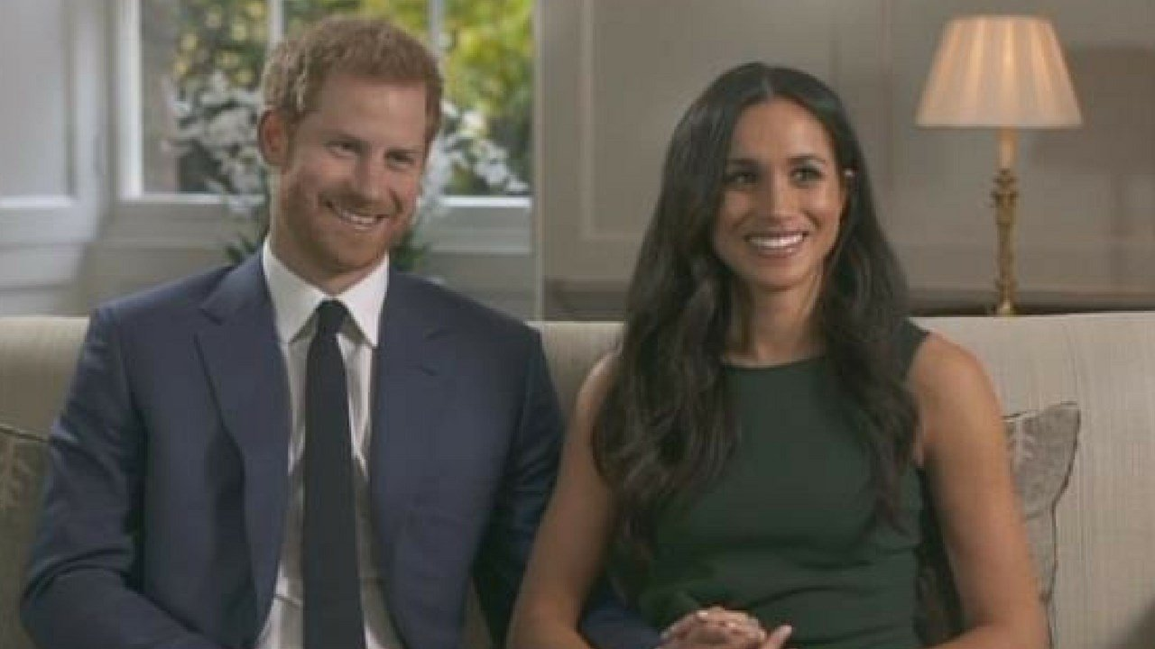 Prince Harry and Meghan Markle gave their first joint interview on Monday since announcing their engagement. (Source: CNN)