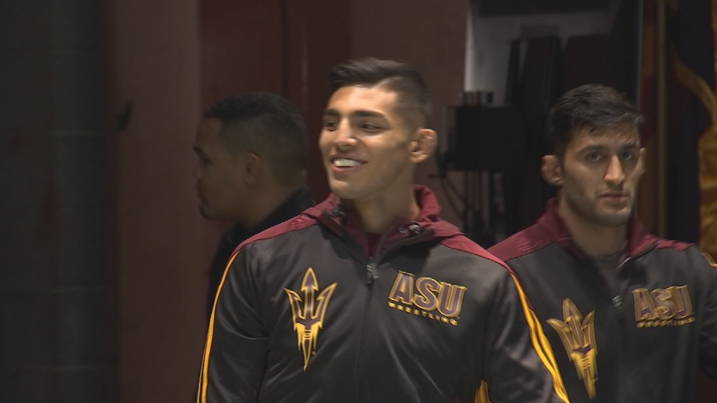 Zahid is ready achieve even more this year. (Source: 3TV/CBS 5)