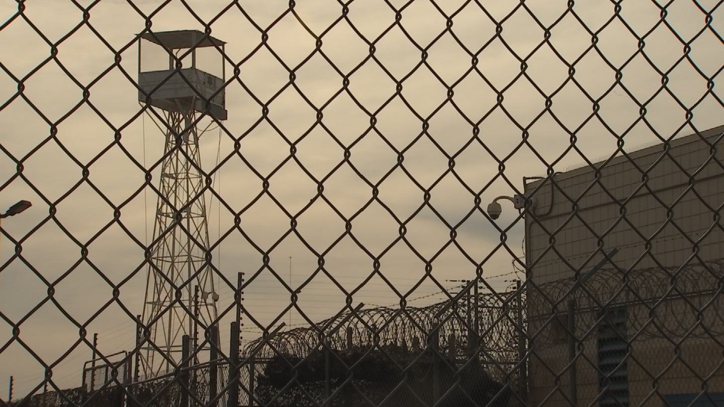 Site of former tent city jail is now proposed as inmate training facility. 27 Nov. 2017 (Source: 3TV/CBS 5 News)