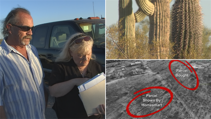 Candace Waltz and her husband said they were shown one parcel of land but then sold a different one. (Source: 3TV)