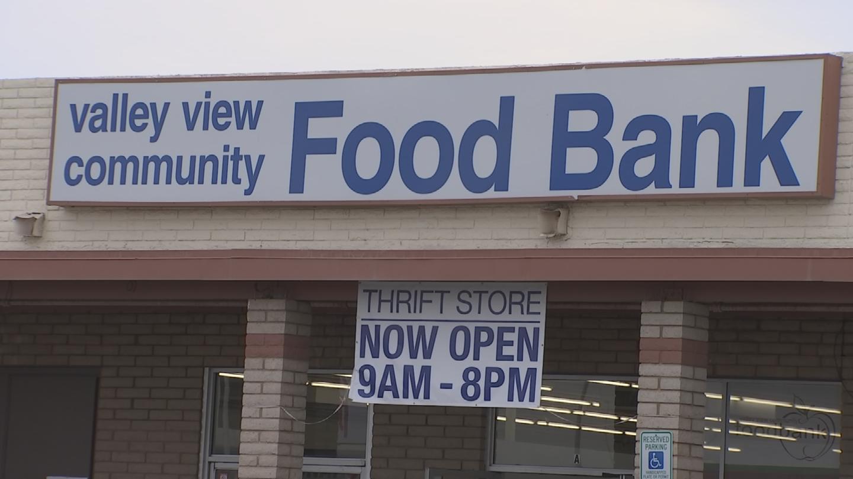Valley View Community Food Bank in El Mirage said its pickup truck was stolen. (Source: 3TV/CBS 5)