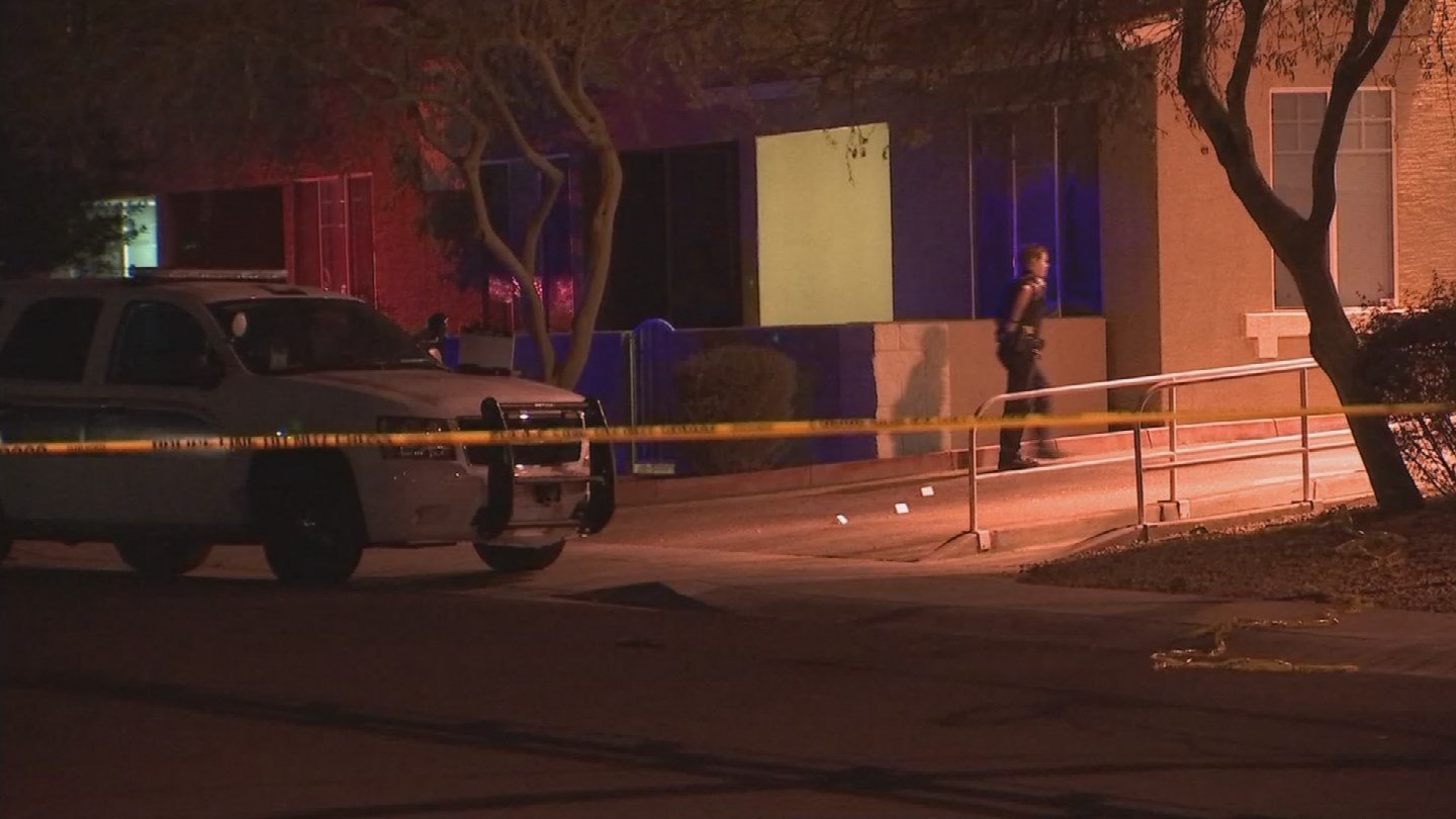 A man is in extremely critical condition after being shot in Phoenix. (Source: 3TV/CBS 5)