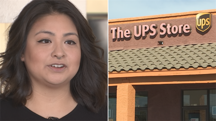 Cassandra Rios says UPS lost two iPhones and won't say how they got lost. (Source: 3TV)