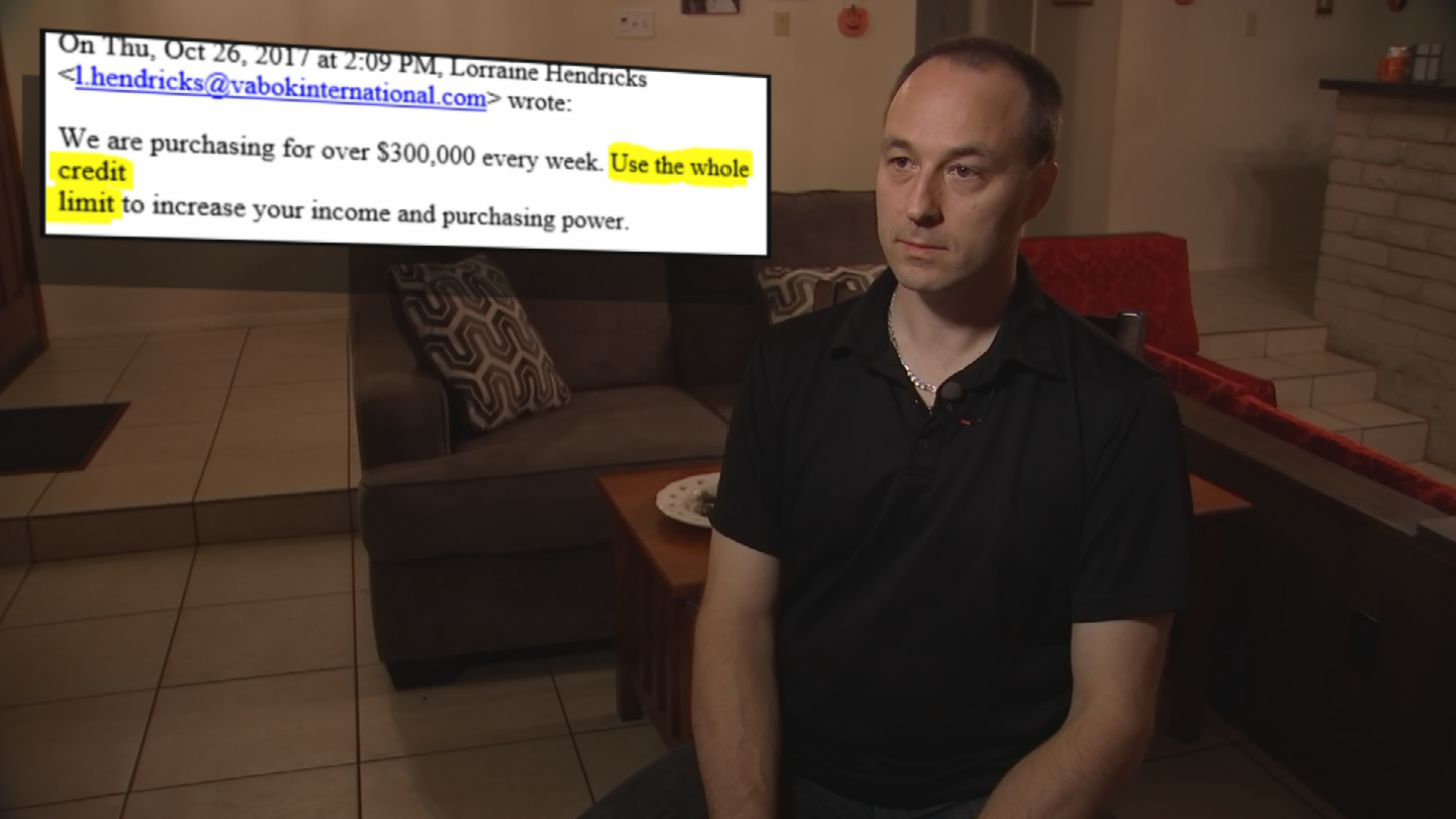 It was only after the company instructed him to max out his credit cards on more gift card purchases, send over the codes, and await immediate reimbursement, did he figure out the scheme. (Source: CBS 5)