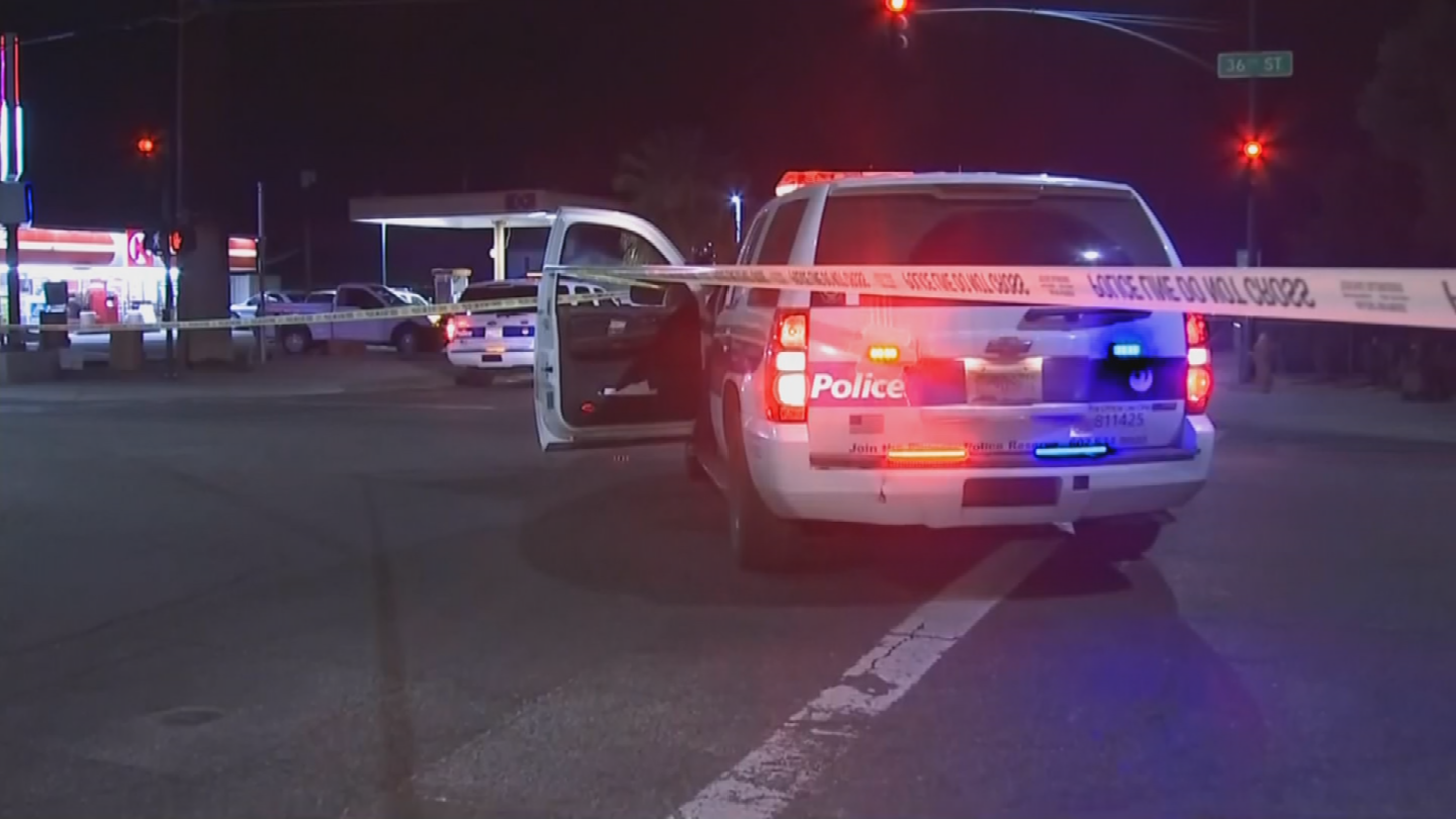 Investigators said she was legally crossing the street in the area of 36th Street and Oak Street around 2 a.m. on Thanksgiving. (Source: 3TV/CBS 5)