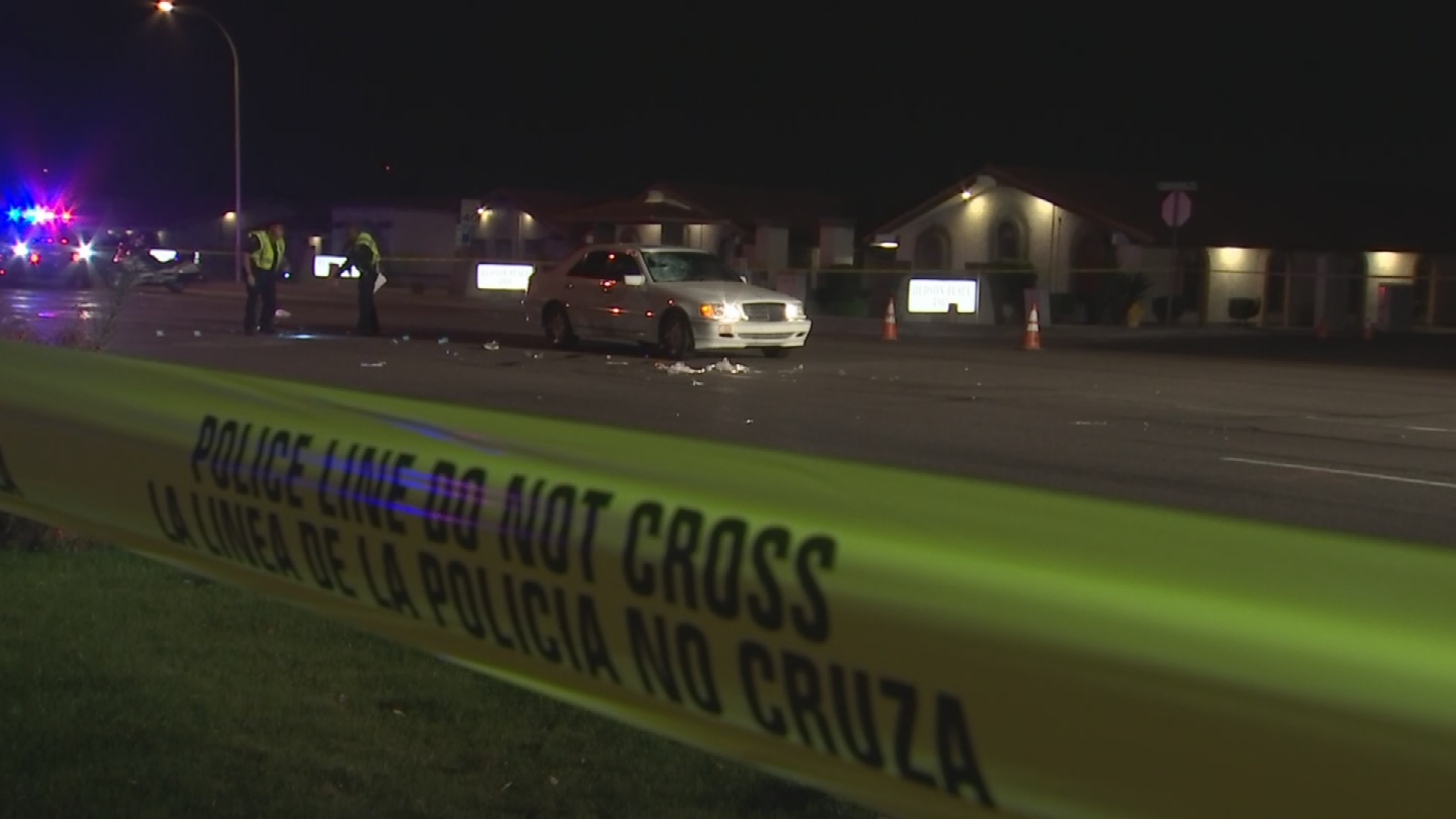It happened around 7 p.m. on Southern Avenue near Price Road. (Source: 3TV/CBS 5)