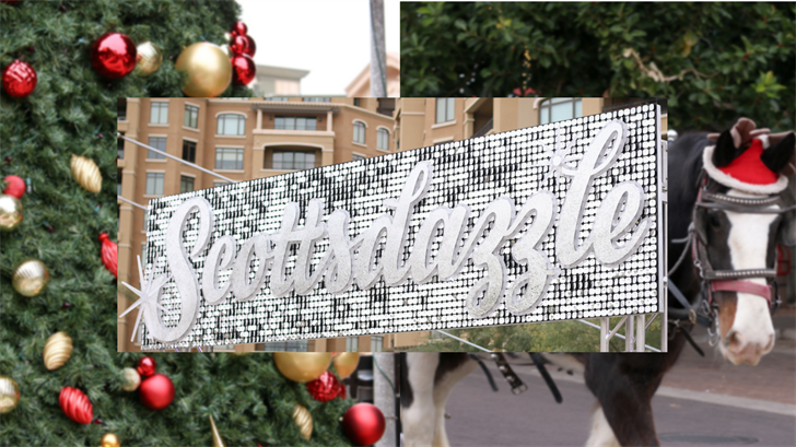 Scottsdazzle has started its string of holiday festivities. (Source: Scottsdale)
