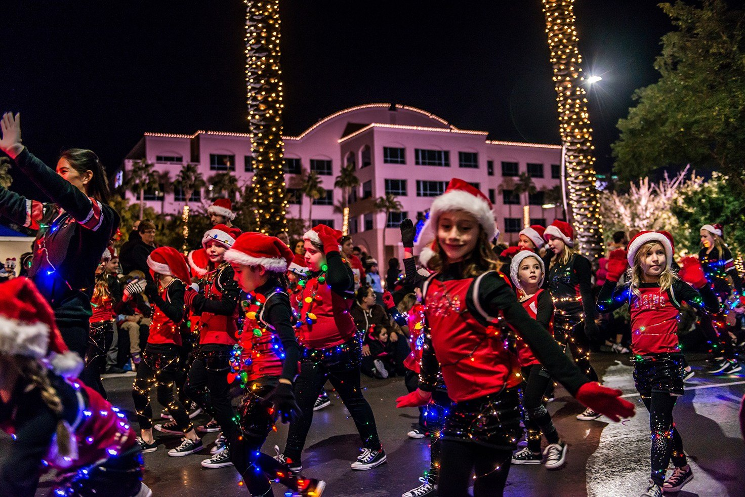 The Parade of Lights begins at 7 p.m. and the parade route will start at the corner of Arizona Avenue and Frye Road. (Source: City of Chandler)
