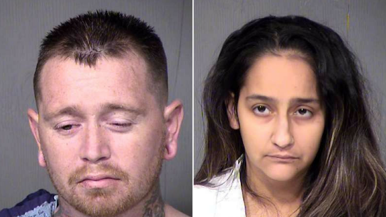 Kansas Lavarnia, left, and Wendy Lavarnia, right. (Source: Maricopa County Sheriff's Office)