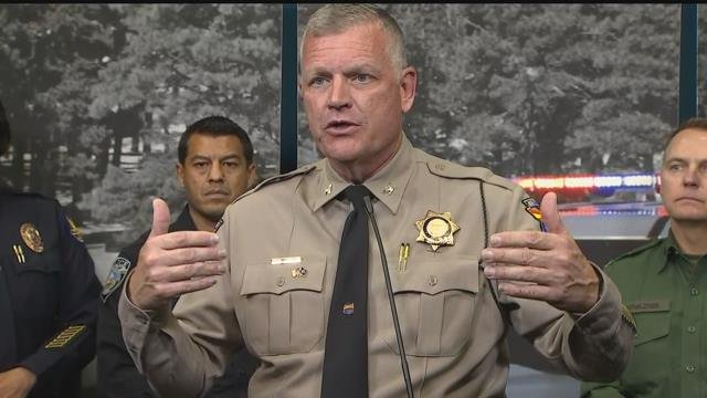 Department of Public Safety Director Col. Frank Milstead talked about the gun battle Wednesday, saying it's a sobering reminder of what law-enforcement officers face. (Source: 3TV/CBS 5)