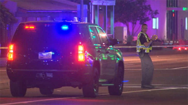 A man is dead after being struck and killed by an SUV in Scottsdale late Wednesday night. (Source: 3TV/CBS 5)