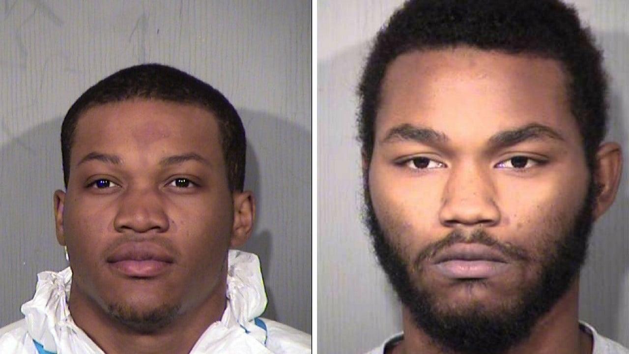 Torre Sanders, 20 (left) Jordan Hosey, 17 (Source: Maricopa County Sheriff's Office)