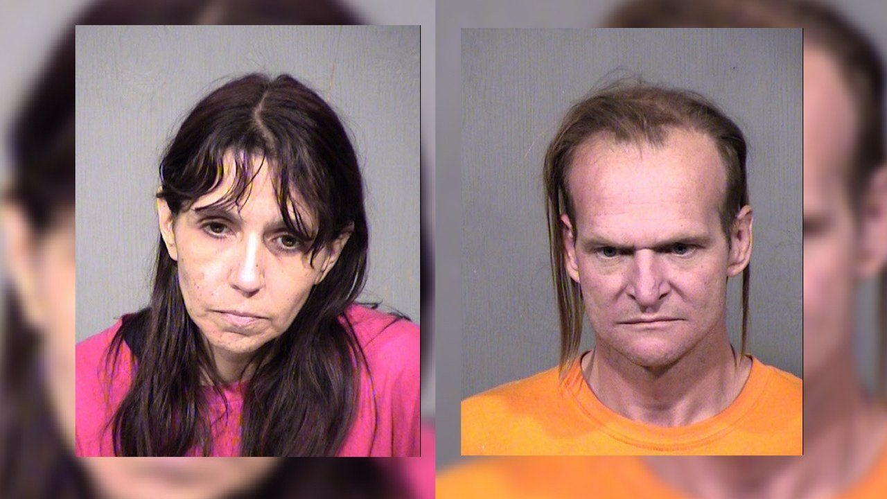 Melessa Martinez and Roy Johnston (Source: Maricopa County Sheriff's Office)
