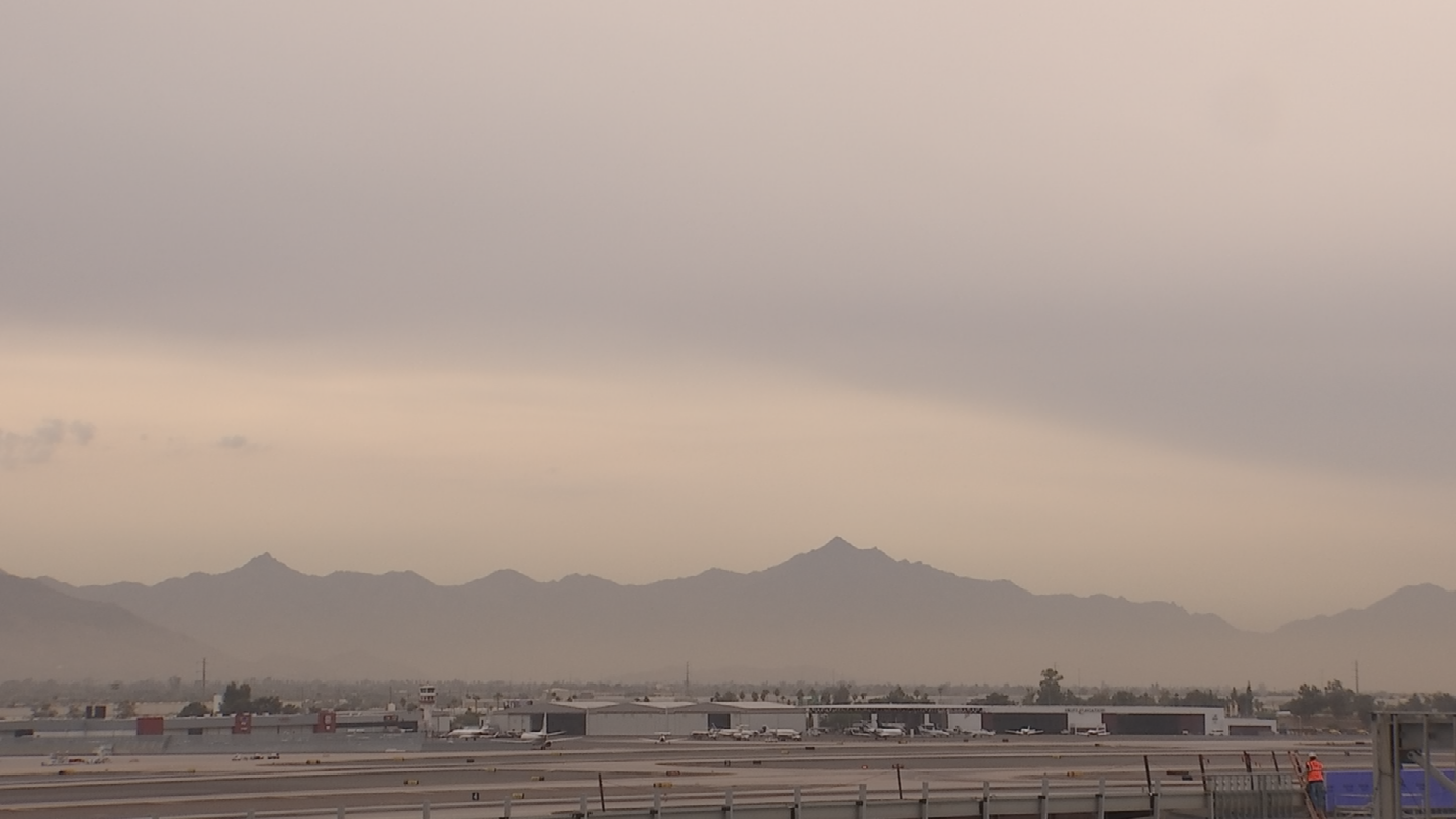 Arizona Department of Environmental Quality has extended its high pollution advisory for Maricopa County through Friday. (Source: 3TV/CBS 5)