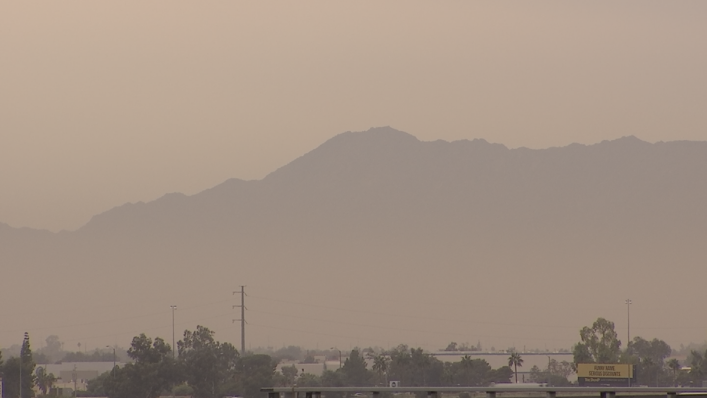 The advisory means dust and pollutant levels may exceed federal health standards and that can be dangerous for people. (Source: 3TV/CBS 5)