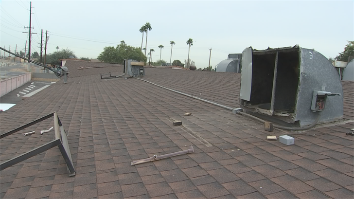 Two air conditioning units were stolen on Sunday night. (Source: 3TV/CBS 5)