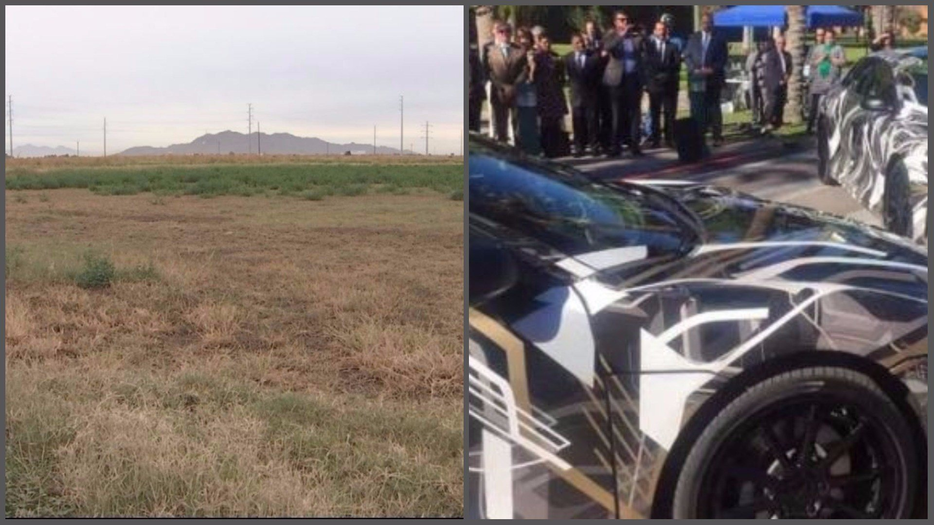 One year after Lucid Motors announced its intention to build a factory in Casa Grande, it still has not broken ground. The site at Peters and Thornton roads sits empty. (Source: 3TV/CBS 5)