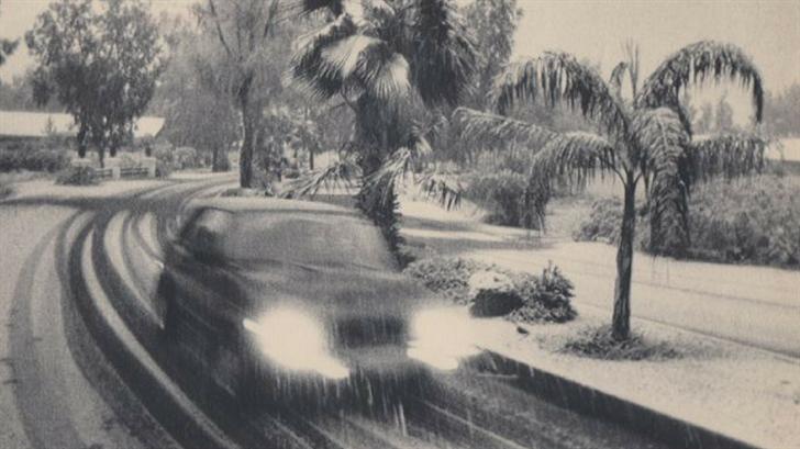 It hasn't snowed in downtown Phoenix since the 1930s. (Source: 3TV/CBS 5)